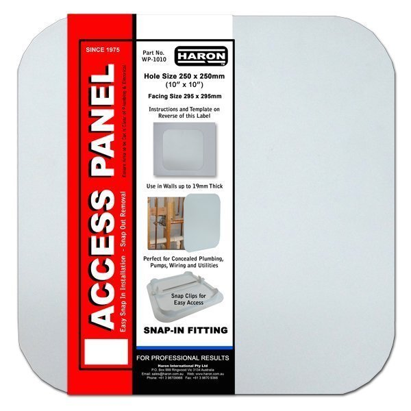 snap in access panels
