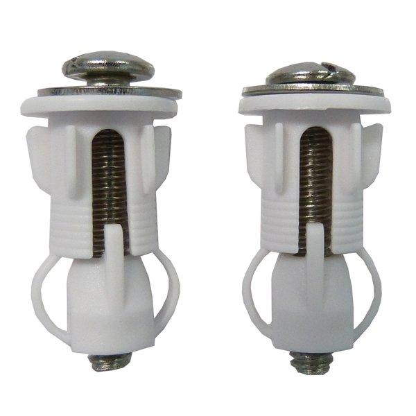 top fixing toilet seat plugs