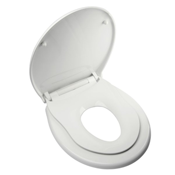 toilet seat with removable child seat