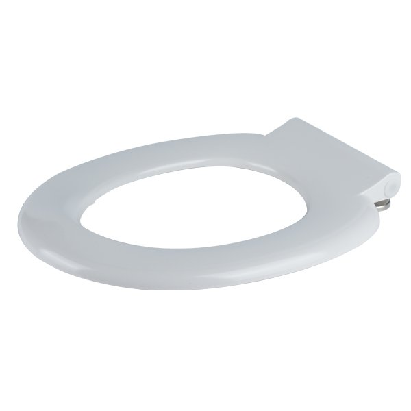 white single flap toilet seats