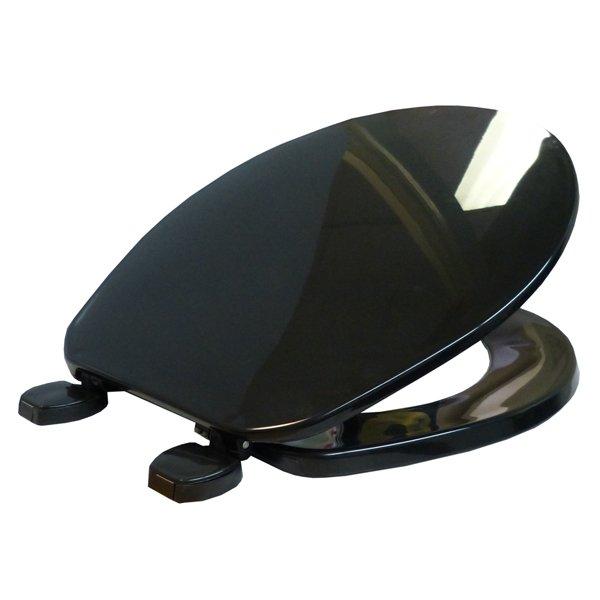 black toilet seat australia
