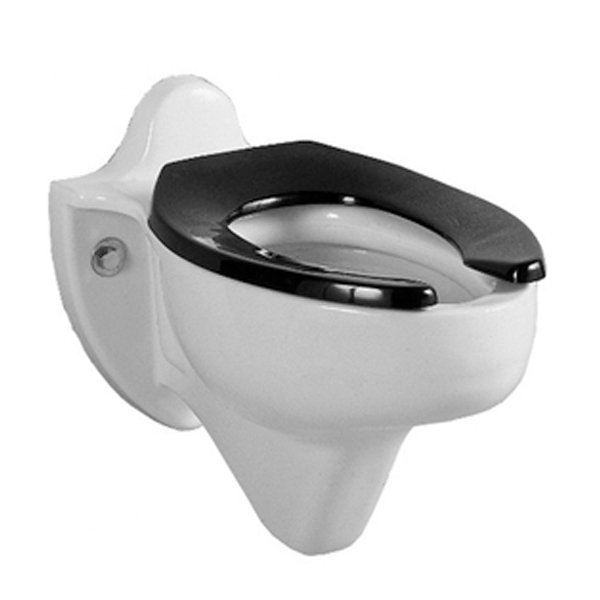 Black Open Front Toilet Seatslet seats. Strong, made with highest quality materials and fits most standard pans.