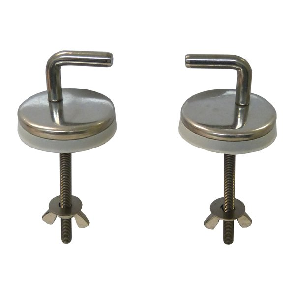 toilet seat hook hinges
